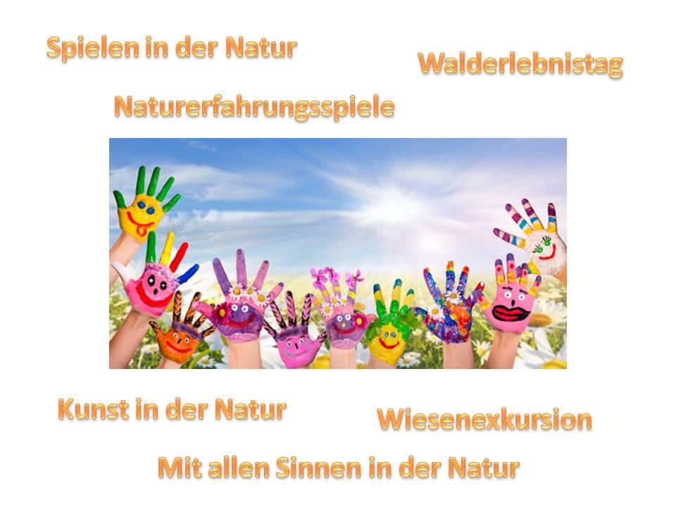 Ausflüge für Kindergärten und Vorschulkinder in die Natur bei Natur reality in Lichtenfels, Franken