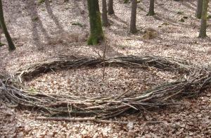 Natur reality Waldsofa